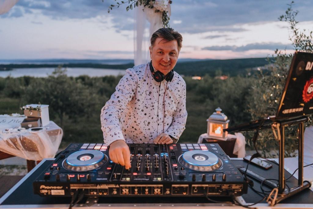 DJ Sanjin - DJ for Weddings Krk Island - Croatia