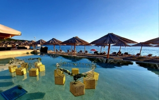Medane Beach, hotel Kanajt - Weddings Punat